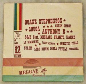 "CD Sampler - Magazine Reggae Vibes#38 >Track 11 : SAMSKARA / Family's Cryin' (Album ""Mise Au Vert"")"