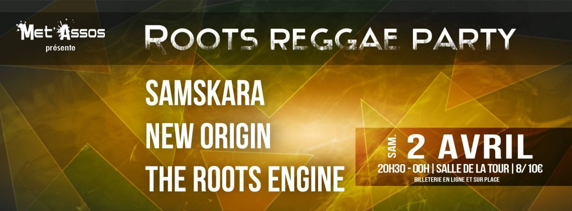Roots Reggae Party @Met'Assos (02.04.2016)